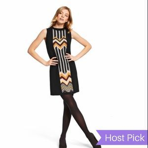 Missoni For Target Zig-Zag Sweater Dress Black M